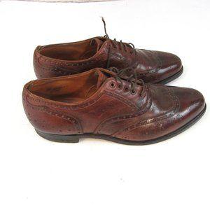New & Lingwood Men's 8-1/2 Wingtip Shoes